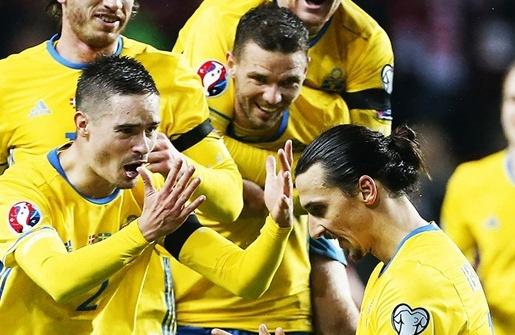 Anh tài EURO: Thụy Điển (Bảng E)