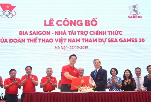 Đoàn thể thao Việt Nam nhận doping cho SEA Games 30