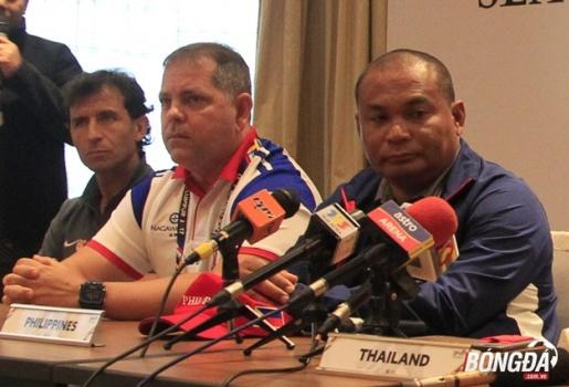 HLV Philippines nói gì trước trận gặp U22 Việt Nam?