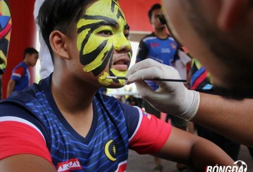 Chung kết SEA Games 29: CĐV Malaysia nghênh chiến Thái Lan
