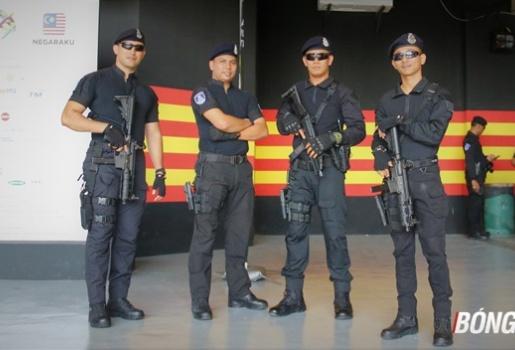 choáng ngợp với dàn an ninh bảo vệ trận chung kết SEA Games 29