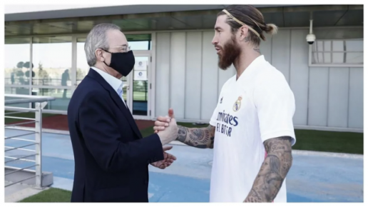 Roberto Carlos: There will be a conversation between Ramos and Florentino Perez to reach an agreement - Bóng Đá