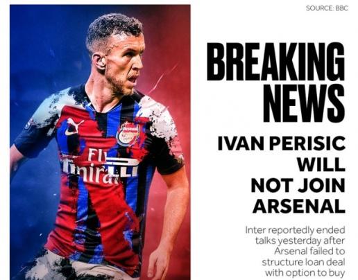 XONG! Sáng tỏ khả năng Ivan Perisic gia nhập Arsenal - Bóng Đá