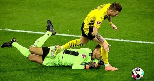 Haaland đá hỏng 11m, Dortmund áp sát Top 4   Bóng Đá