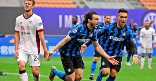 Chức vô địch Serie A coi như khó thoát khỏi tay Inter Milan   Bóng Đá