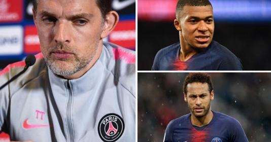 HLV Tuchel không ngớt lời khen ngợi cặp ''song sát'' Neymar - Mbappe | Bóng Đá