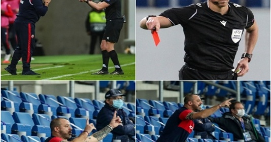 Nhận thẻ đỏ, Stankovic vẫn trực tiếp chỉ đạo các học trò | Bóng Đá