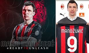 Lời nguyền số 9 ở AC Milan: Mandzukic sẽ hóa giải? | Bóng Đá