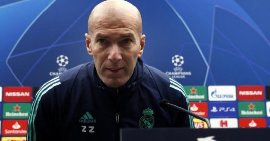 Đội hình tan nát, Zidane vẫn phát biểu 1 điều khiến CĐV Real phát sốt   Bóng Đá