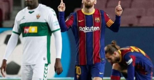 Lập cú đúp, Messi giờ đã vượt mặt Suarez   Bóng Đá