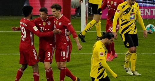 10 con số ấn tượng trận Bayern 4-2 Dortmund: ''Tội nghiệp'' Haaland | Bóng Đá