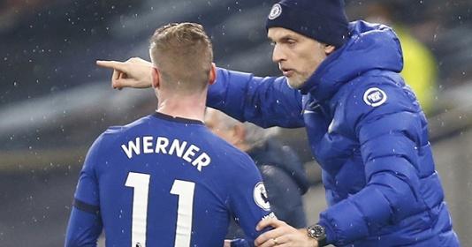 Tuchel nổi đóa, tuyên bố thẳng 1 câu về tin đồn Werner sắp rời Chelsea | Bóng Đá