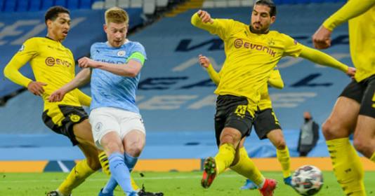 5 điểm nhấn Man City 2-1 Dortmund: Điểm 10 cho De Bruyne   Bóng Đá