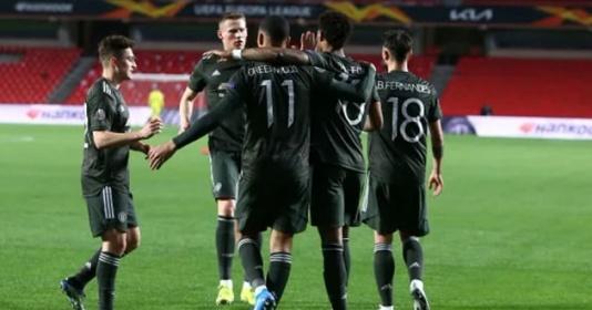 ĐHTB tứ kết lượt đi Europa League: 3 sao Man Utd; ''Ác mộng'' Arsenal | Bóng Đá