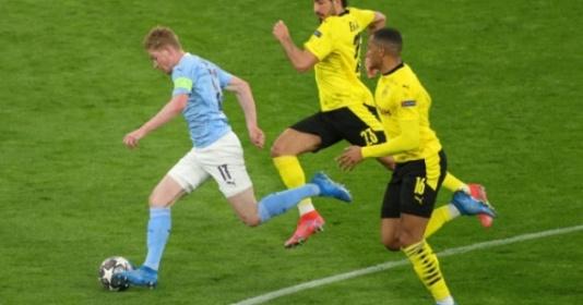 Emre Can hóa tội đồ, Dortmund ngậm ngùi nhìn Man City vào bán kết | Bóng Đá