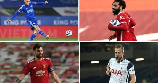 10 cầu thủ dứt điểm nhiều nhất Premier League 2020-21   Bóng Đá