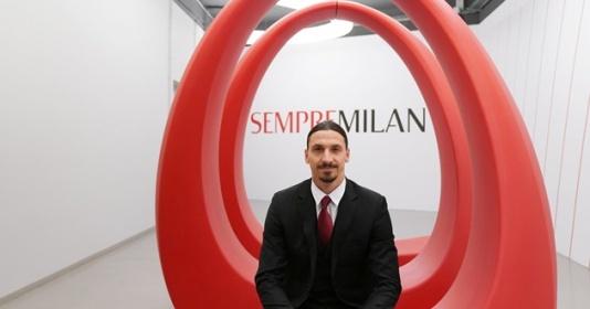 Ibrahimovic bảnh bao trong ngày gia hạn với AC Milan | Bóng Đá