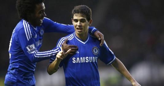 Oscar muốn trở lại Chelsea   Bóng Đá