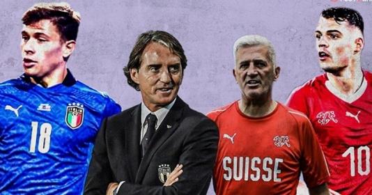 TRỰC TIẾP Ý vs Thụy Sĩ | Bóng Đá