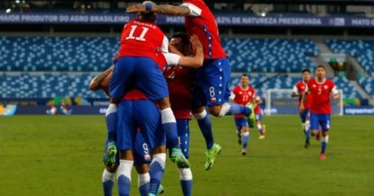 Thắng sát nút, Chile chiếm ngôi đầu bảng A Copa America   Bóng Đá
