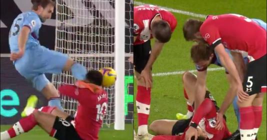 Tình huống kinh dị ở trận Southampton đấu West Ham   Bóng Đá