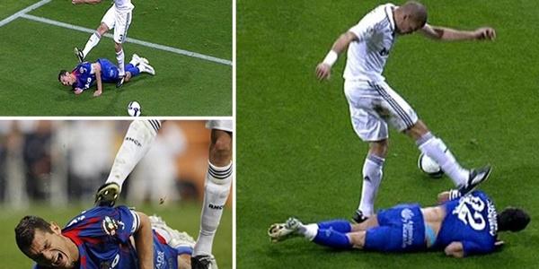 Những khoảng khắc điên rồ trên sân cỏ của gã đồ tể Pepe