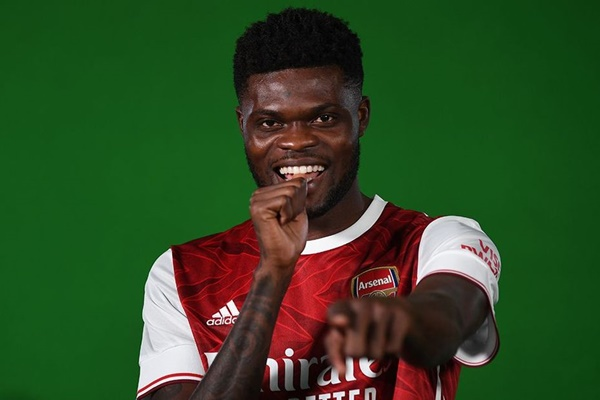 Thomas Partey will finally get his dream shirt number as Arsenal complete January transfer - Bóng Đá