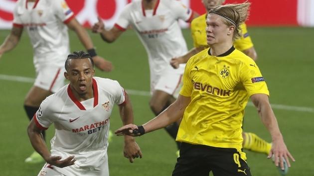 Truoctrandau đưa tin: 10 thống kê trận Sevilla 2-3 Dortmund: Haaland quá khủng