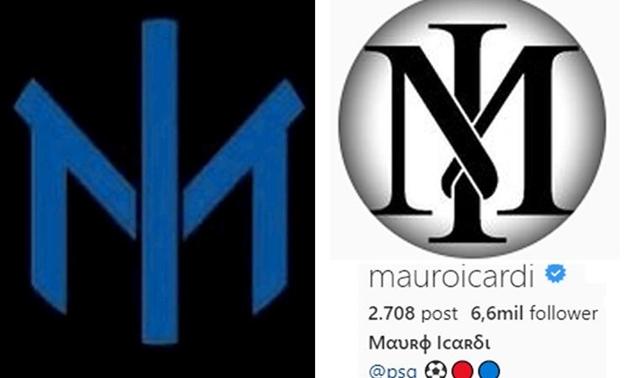 Mauro Icardi chế nhạo logo mới của Inter Milan - Bóng Đá