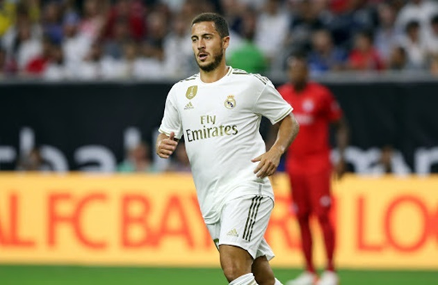 Eden Hazard turns up to Real Madrid pre-season overweight AGAIN with Los Blancos chiefs fuming with ex-Chelsea star - Bóng Đá