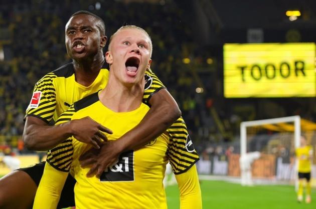 Haaland lập cú đúp, Dortmund lội ngược dòng trong cơn mưa bàn thắng - Bóng Đá