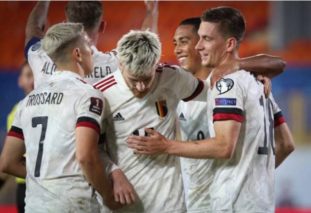 Bỉ giành chiến thắng sát nút trước Belarus - Bóng Đá